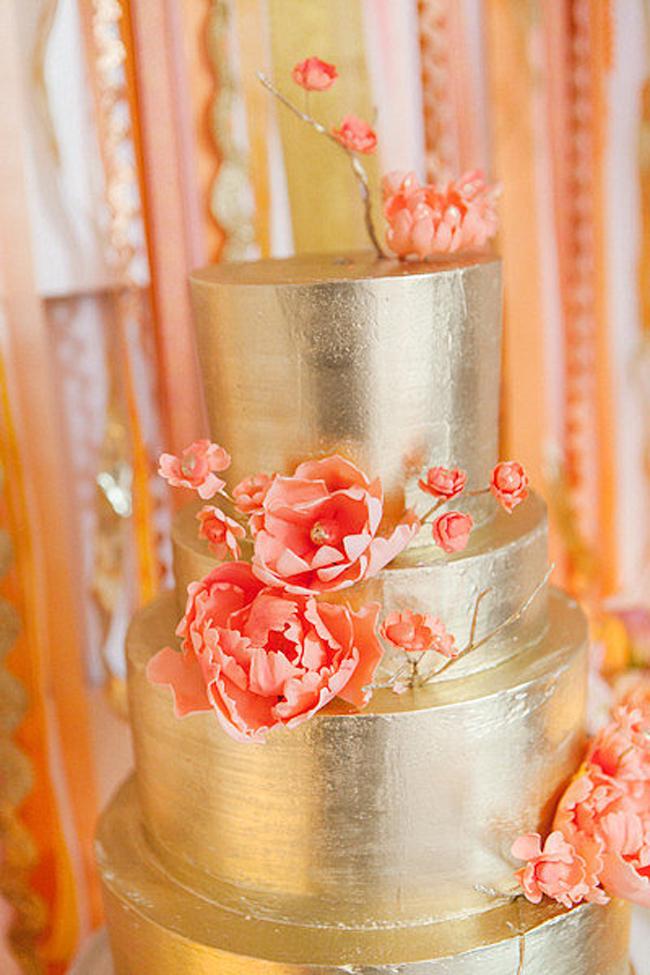 Zlatni detalji na svadbi4 Svadbena dekoracija: Ideje za detalje u boji zlata