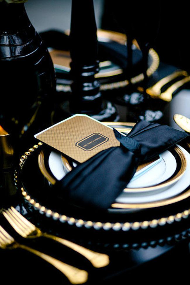 Zlatni detalji na svadbi6 Svadbena dekoracija: Ideje za detalje u boji zlata
