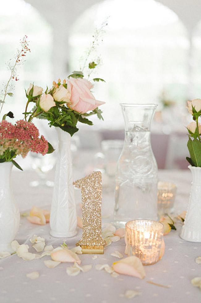 Zlatni detalji na svadbi7 Svadbena dekoracija: Ideje za detalje u boji zlata