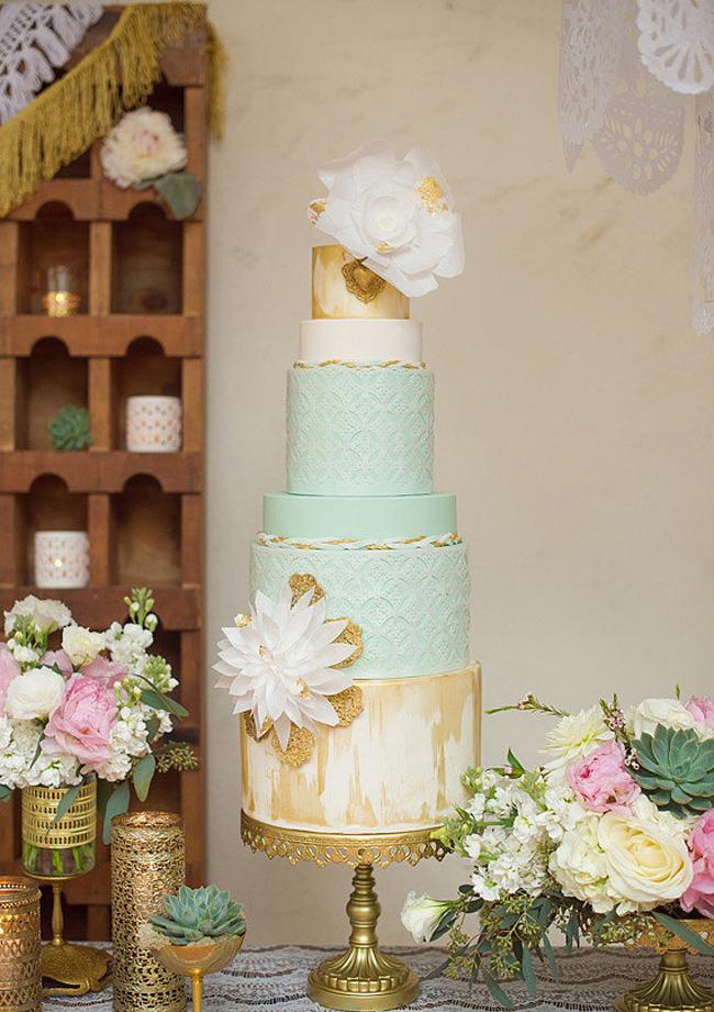 Zlatni detalji na svadbi8 Svadbena dekoracija: Ideje za detalje u boji zlata