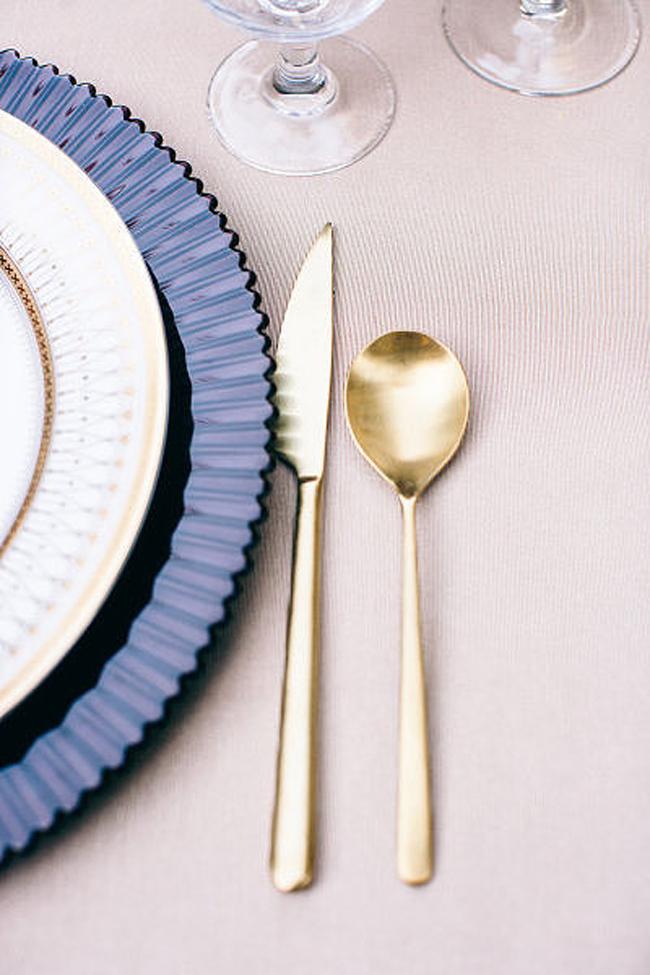 Zlatni detalji na svadbi9 Svadbena dekoracija: Ideje za detalje u boji zlata