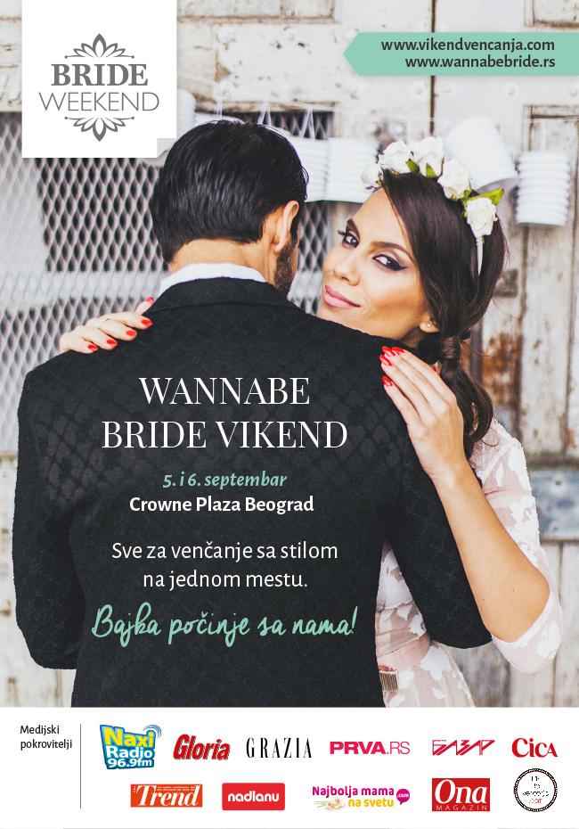 bride weekend crowne plaza1 Wannabe Bride Vikend: Dođi, provedi se i osvoji!