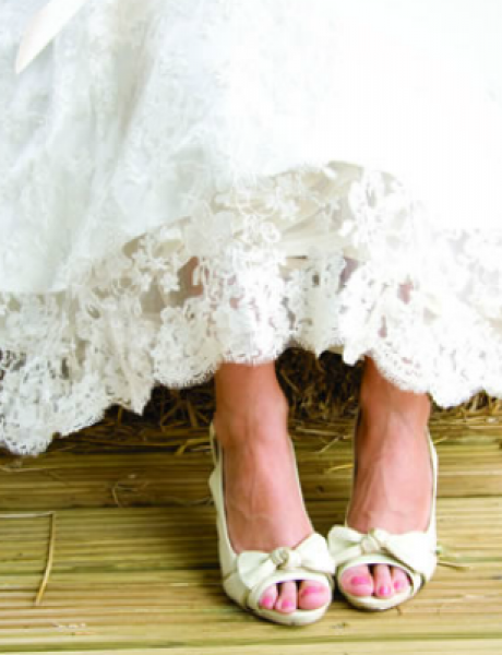 Cipele za venčanje: Udobnost je na prvom mestu