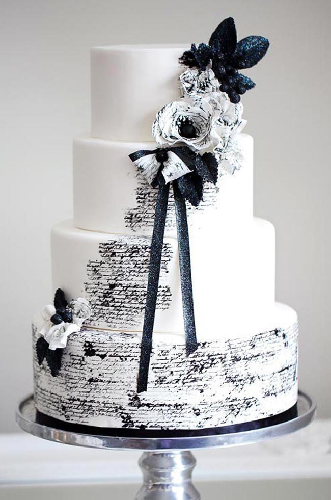 crno bela svadbena dekoracija5 Svadbena dekoracija: Crno bela klasika!