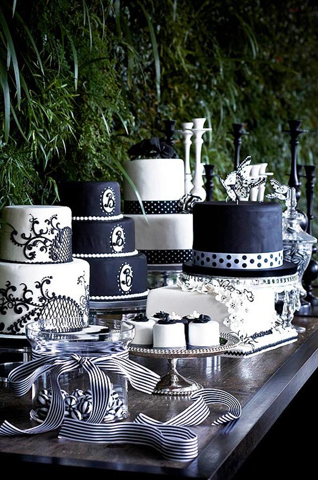 crno bela svadbena dekoracija6 Svadbena dekoracija: Crno bela klasika!