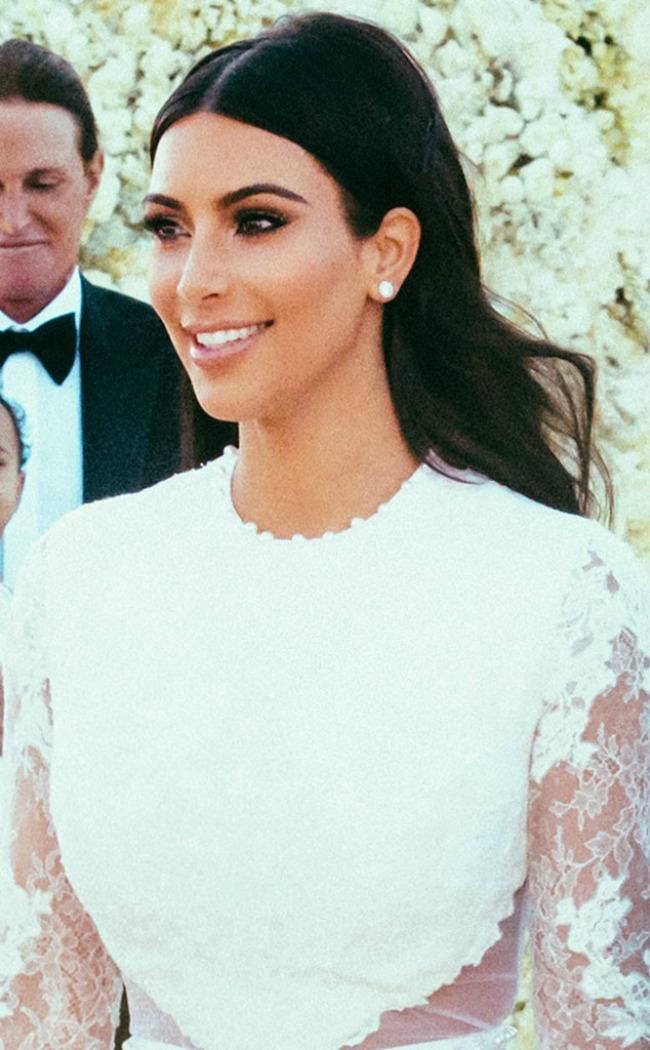inspiracija za vencanje najlepse poznate mlade kim kardasijan Kakvu šminku za venčanje biraju poznate dame?