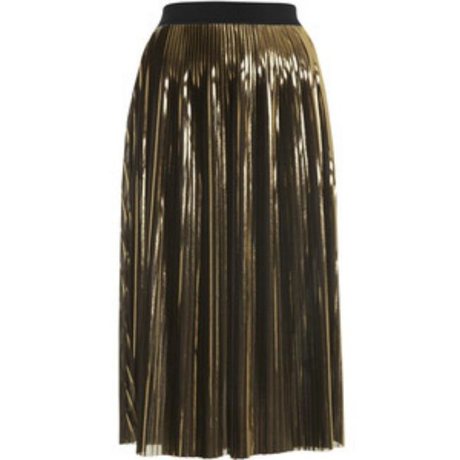 modni predlog za kume metalik plisirana suknja topshop Modni predlog za kume: Metalik plisirana suknja