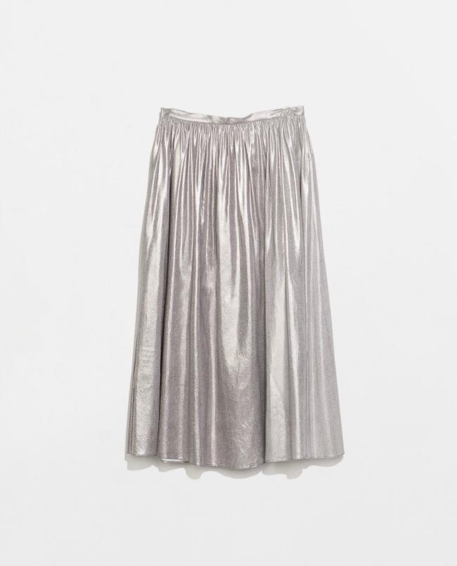 modni predlog za kume metalik plisirana suknja zara Modni predlog za kume: Metalik plisirana suknja
