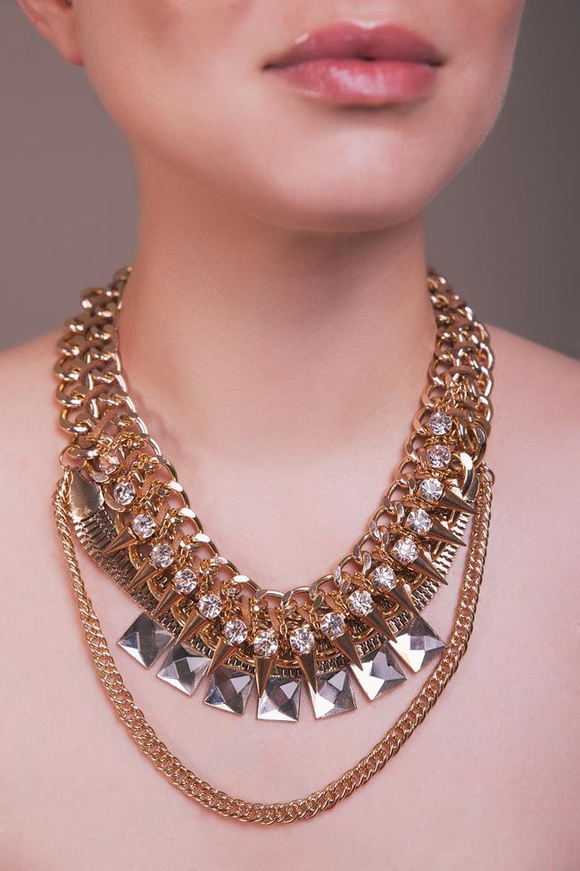 ogrlica1 Wannabe Shop: Čipka i zlato!