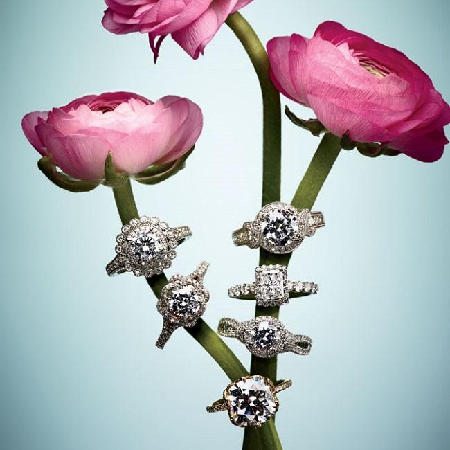prstenje1 Vereničko prstenje: Jedinstveni oblici za svaki stil