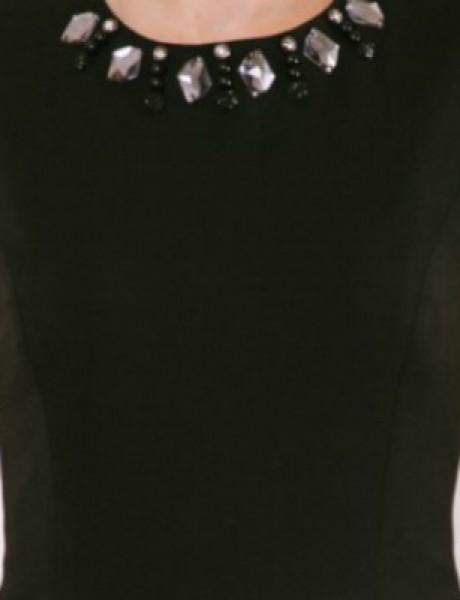 Wannabe Shop: Mala crna haljina i glamurozan nakit