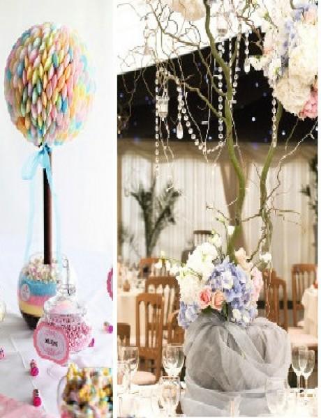 Dekoracija: 7 kreativnih ideja za vaše venčanje