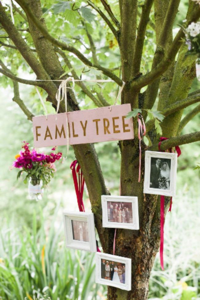 dekoracija 7 kreativnih ideja za vase vencanje napravite porodicno stablo Dekoracija: 7 kreativnih ideja za vaše venčanje