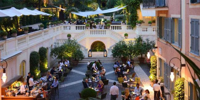hotel de russie rome 2 Medeni mesec u Rimu: Najlepši hoteli večnog grada