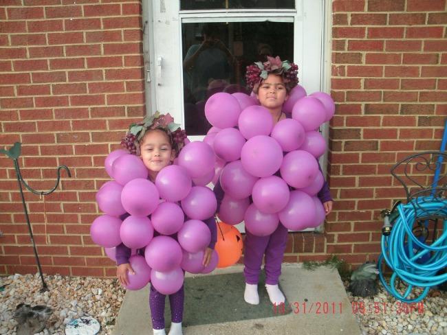 kostim grožđe1 Napravite sami masku za dete