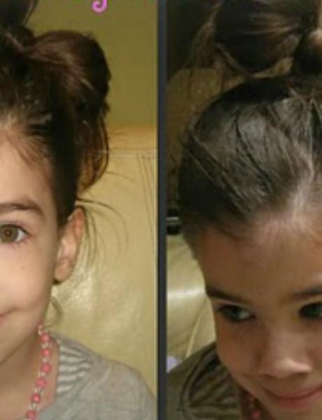 Napravite svojoj devojčici divnu frizuru