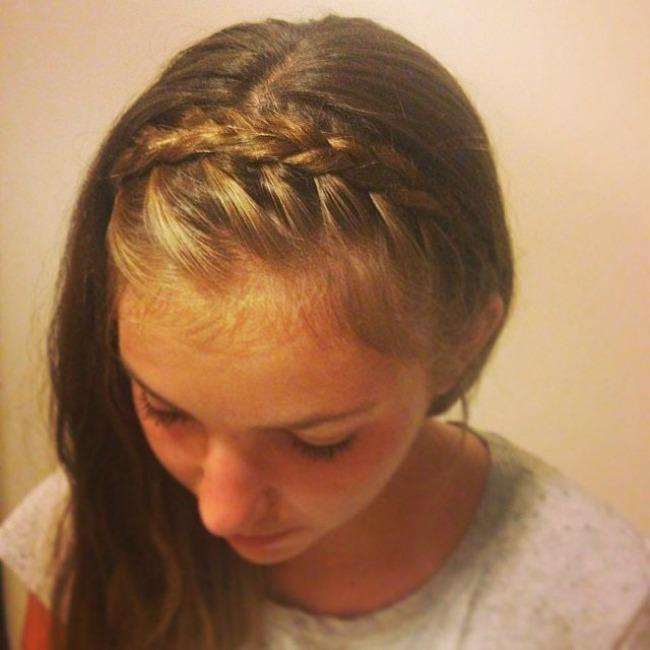 pletenica rajf1 Napravite svojoj devojčici divnu frizuru