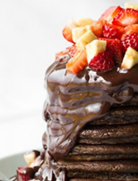 Prste da poližeš: Čokoladne palačinke