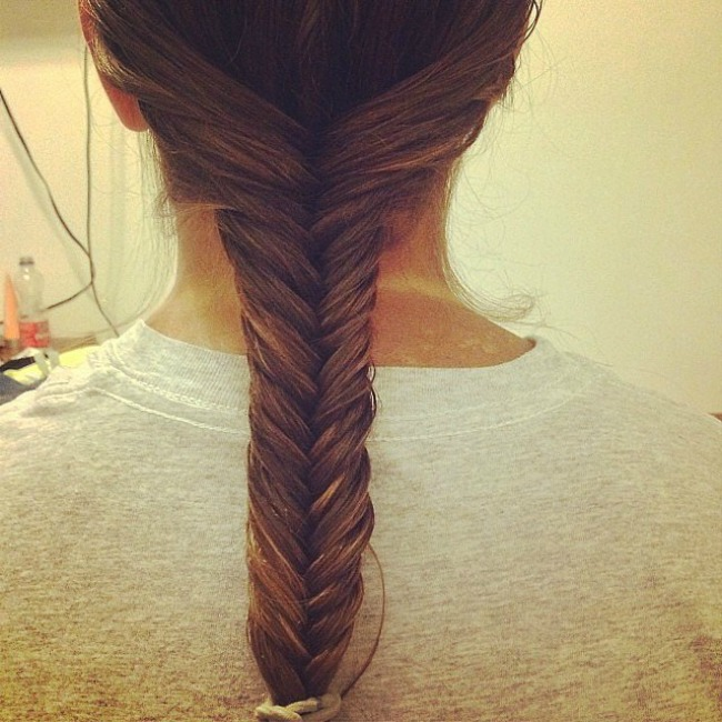 riblja kost1 Napravite svojoj devojčici divnu frizuru