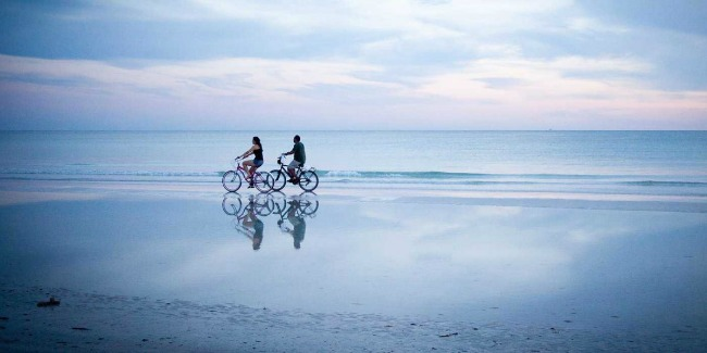siesta key Beach Florida medeni mesec Medeni mesec na amerčkim obalama