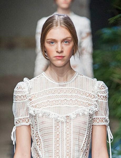 Venčanice inspirisane modnim pistama