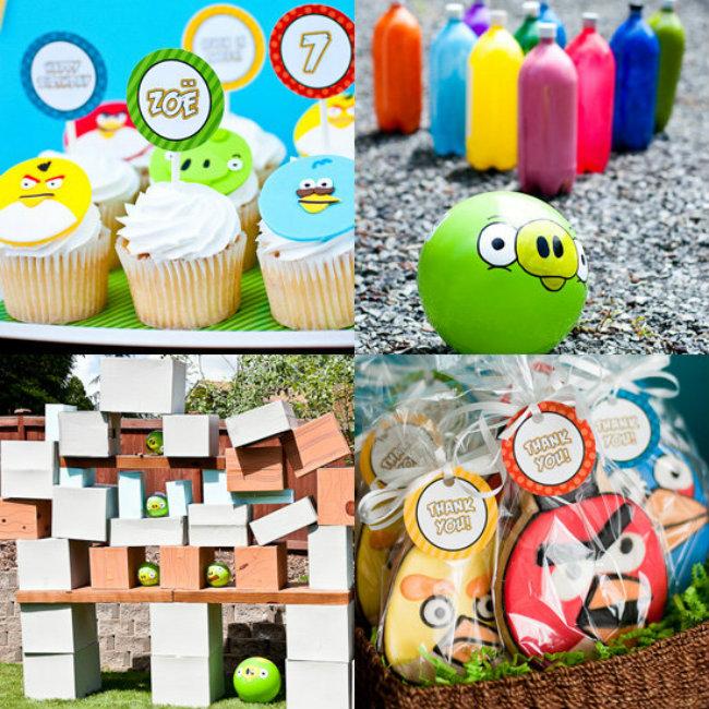 Angry Birds Birthday Party Dekoracijom do nezaboravnog rođendana