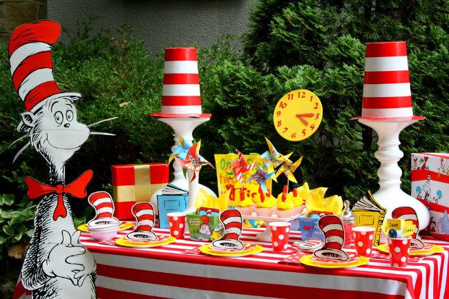 Dr Seuss Themed Birthday Party Dekoracijom do nezaboravnog rođendana