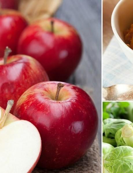 Jesenje namirnice za mršavljenje