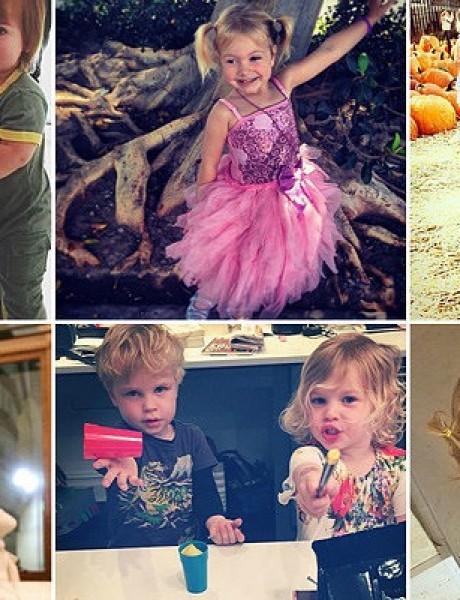 Fotografije poznatih sa svojom decom