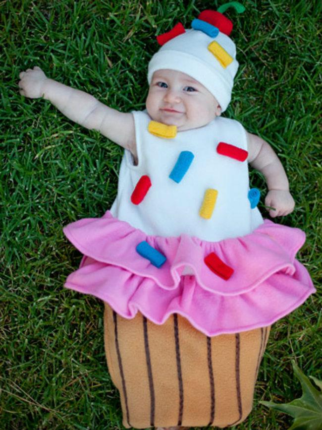 Kostimi za maskembal Bebe obučene u hranu 4 Kostimi za maskembal: Bebe obučene u hranu!