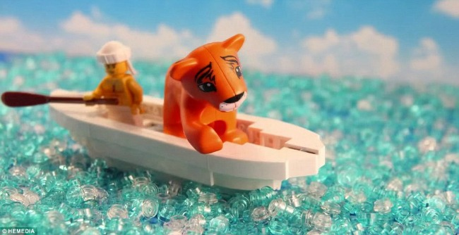 Nezaboravni filmski momenti od LEGO kockica Nezaboravni filmski momenti od LEGO kockica