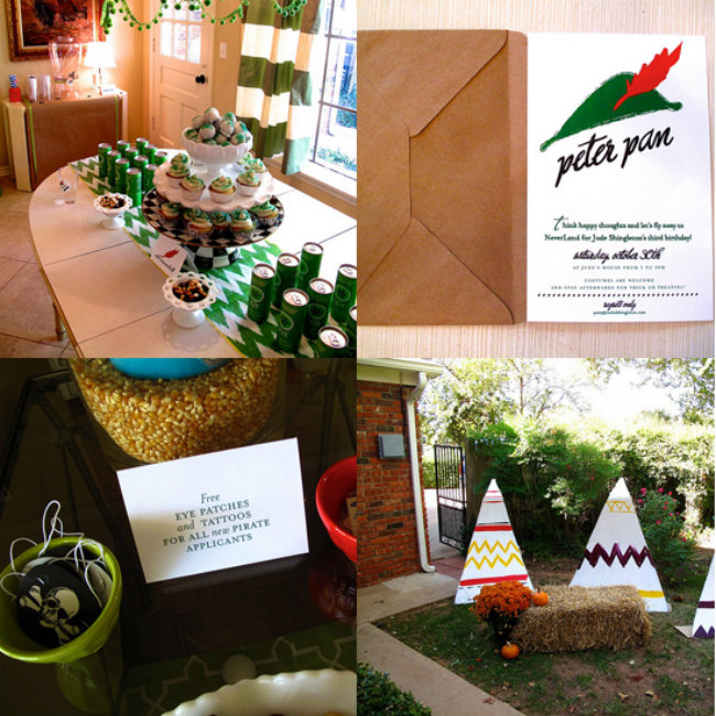 Peter Pan Party Dekoracijom do nezaboravnog rođendana