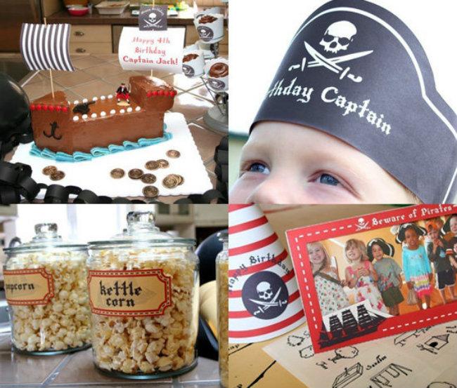 Pirate Party Dekoracijom do nezaboravnog rođendana