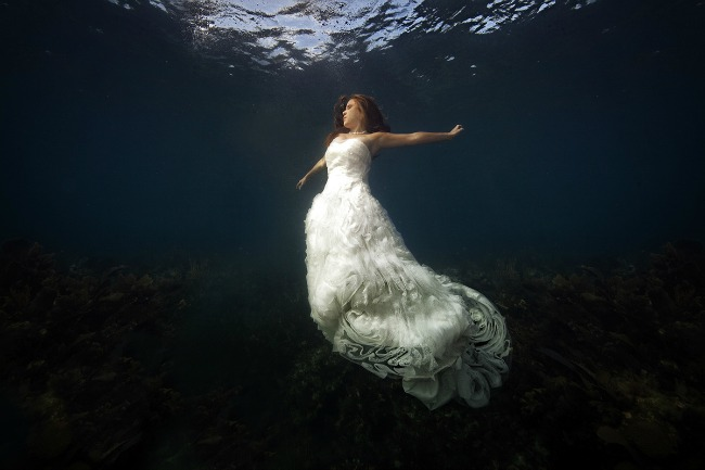 Podvodne fotografije mladenaca 1 Podvodne fotografije mladenaca