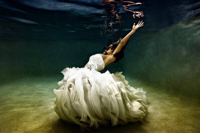 Podvodne fotografije mladenaca 12 Podvodne fotografije mladenaca