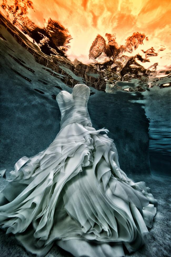Podvodne fotografije mladenaca 3 Podvodne fotografije mladenaca
