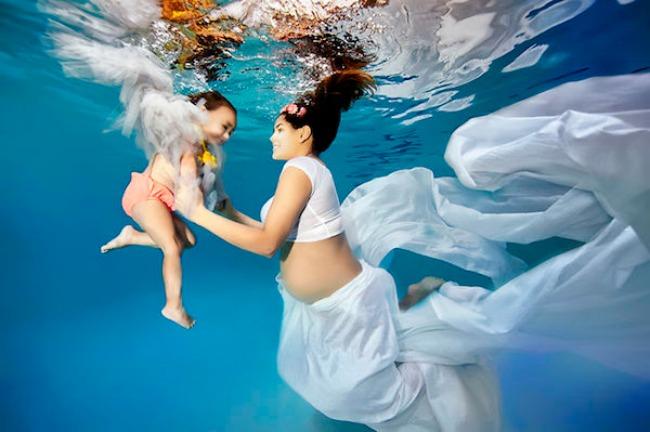 Podvodne fotografije trudnica 6 Podvodne fotografije trudnica