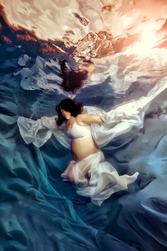 Podvodne fotografije trudnica 9 Podvodne fotografije trudnica