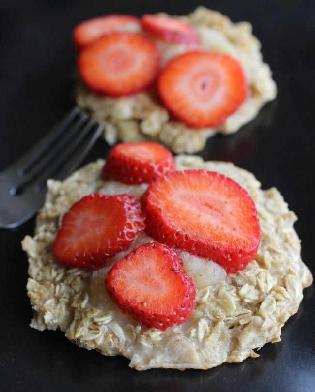 Recept Palačinke sa ovsenom kašom i jagodama Recept: Palačinke sa ovsenom kašom i jagodama