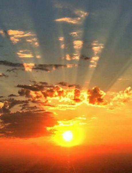 Najlepše fotografije: Romantični zalazak sunca