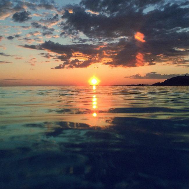 Romantični zalazak sunca 7 Najlepše fotografije: Romantični zalazak sunca