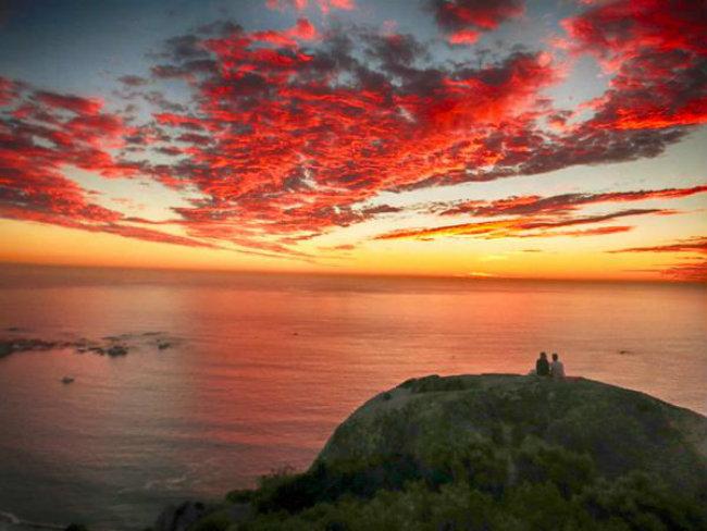 Romantični zalazak sunca 8 Najlepše fotografije: Romantični zalazak sunca