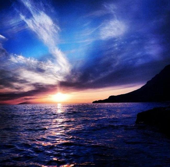 Romantični zalazak sunca 9 Najlepše fotografije: Romantični zalazak sunca