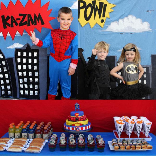 Vintage Superhero Party Dekoracijom do nezaboravnog rođendana