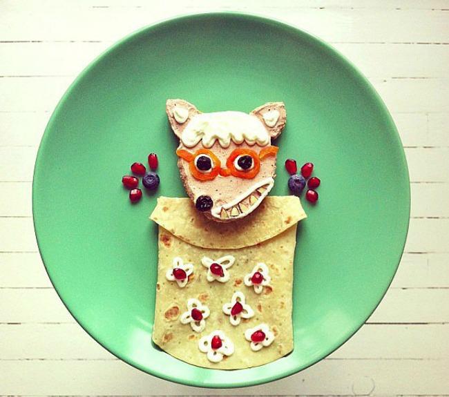 Zabavan doručak za mališane 4 Zabavan doručak za mališane