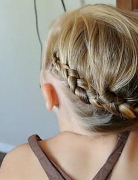 Video tutorijali: Brze frizure za nestrpljivu ćerku
