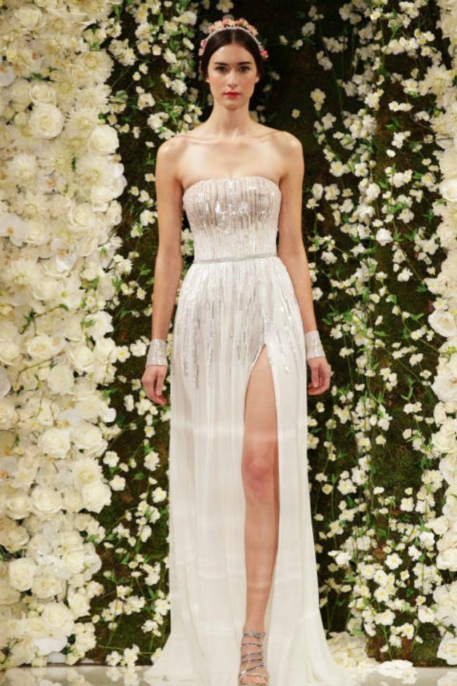 haljine za vencanje seksi i elegantne vencanice reem acra 2015 Haljine za venčanje: Seksi i elegantne venčanice