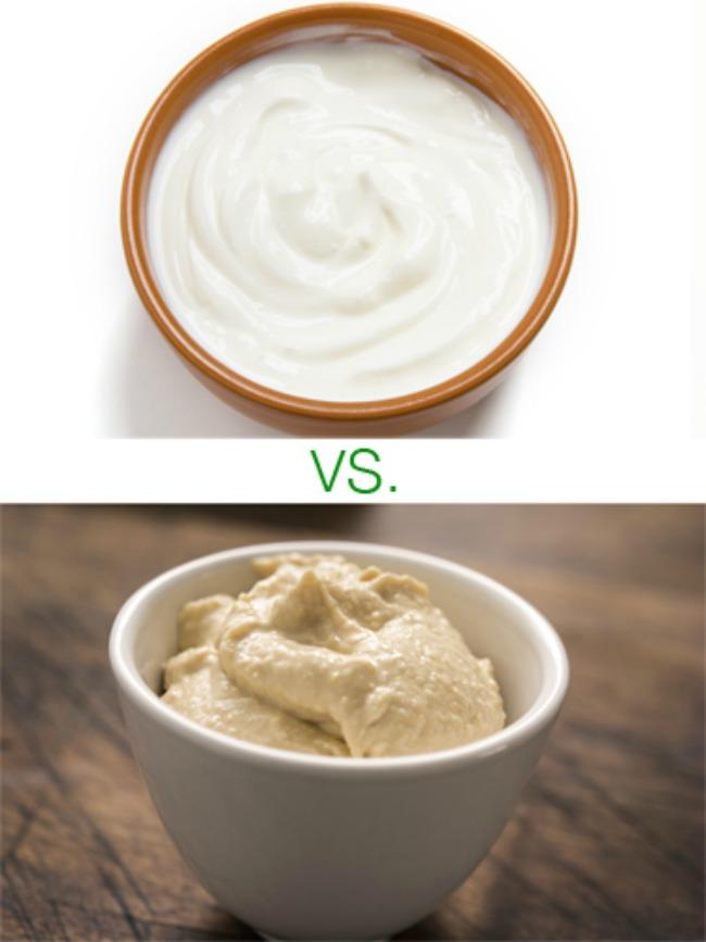 humus i grčki jogurt1 Izaberite zdravije predjelo
