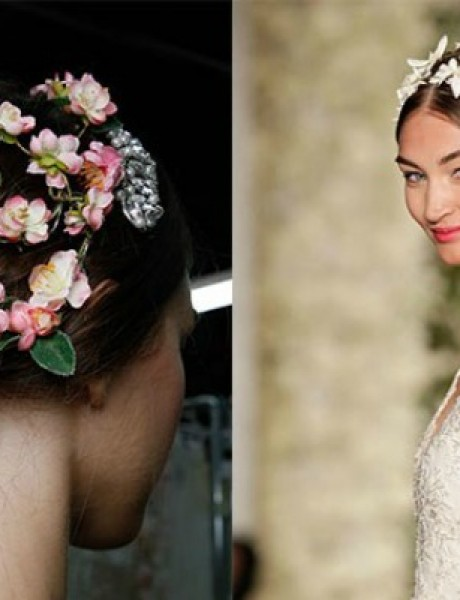 Inspiracija za venčanje: Najlepše frizure sa Nedelje mode u Njujorku