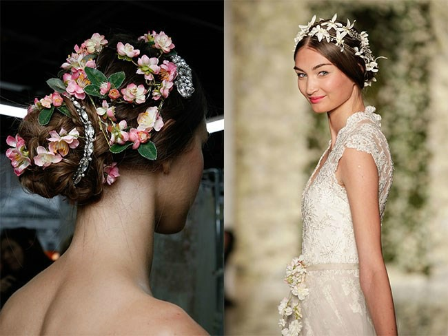 inspiracija za vencanje najlepse frizure sa nedelje mode u njujorku cvece u kosi Inspiracija za venčanje: Najlepše frizure sa Nedelje mode u Njujorku